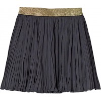 MinymoKjol, Piper 09, Pleated Skirt, India Ink98 cm