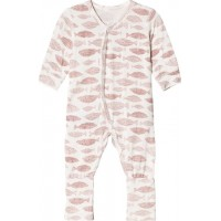 Hust&ClairePyjamas Dusty rose62 cm (2-4 mån)