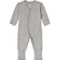 Hust&ClairePyjamas Light grey melange68 cm (4-6 mån)