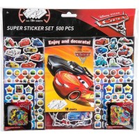 Disney Pixar CarsStickers set 500 pack