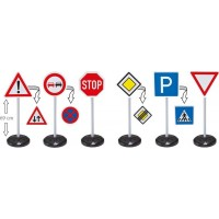 BIGBIG Bobby Car, Traffic Signs Mega Set