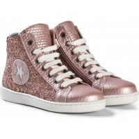 BisgaardShoe with laces Rose-glitter26 EU