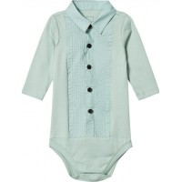 The Tiny UniverseThe Tiny Body Tuxedo Soft Green3-6 mån