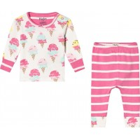 HatleyIce Cream Treats Pyjamas Set Rosa6-9 months