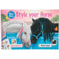 PlayMiss Melody Style your Horse Målarbok