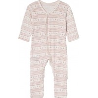 Hust&ClaireOnesie Dusty rose50 cm (0-1 mån)