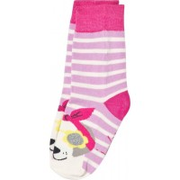 JoulesStripe and Floral Dog Face Patchback32-36 (UK 13-3)