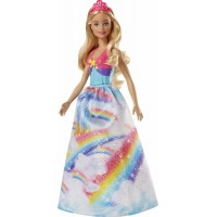 BarbieDreamtopia Princess Doll Röd