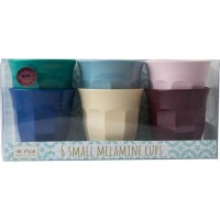 Rice6-Pack Liten Melamin Mugg Urban Colors