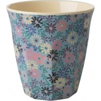 RiceMelamin Medium Mugg Small Flower Print