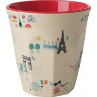 RiceMelamin Medium Mugg Paris Print