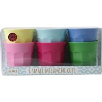 Rice6-Pack Liten Melamin Mugg Classic Colors