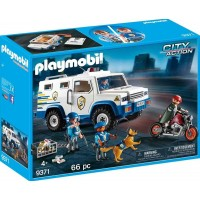 Playmobil9371 Police Money Transporter