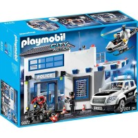 Playmobil9372 Police Station