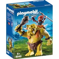 Playmobil9343 Giant Troll with Dwarf Fighter