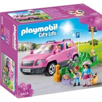 Playmobil9404 Family Car with Parking Space