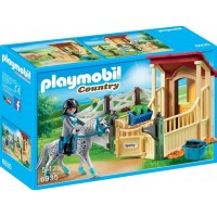 Playmobil6935 Hästbox Appaloosa