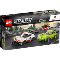 LEGO Speed Champions75888 LEGO® Speed Champions Porsche 911 RSR och 911 Turbo 3.0