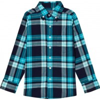 Lands' EndPale Blue Poplin ShirtL (11-12 years)