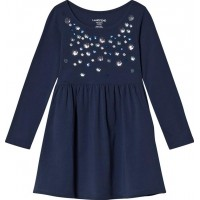 Lands' EndShining Multi Flowers Jersey KlänningM (10-11 years)