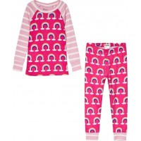 HatleyPretty Rainbows Pyjamas Rosa2 years