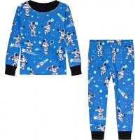 HatleyAthletic Astronauts Glow Pyjamas Blå2 years