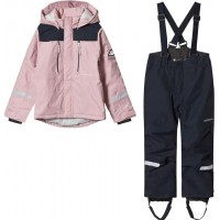 DidriksonsHamres Kids Set Dusty Pink80 (9-12 mån)
