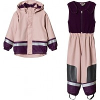 DidriksonsBoardman Kids Set 2 Dusty Pink80 (9-12 mån)