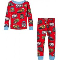 HatleyMonster Trucks Pyjamas Röd2 years
