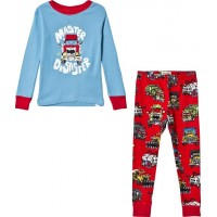 HatleyMonster Trucks Pyjamas Blå2 years