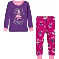 HatleyFairy Sleeper Applique Pyjamas Lila2 years