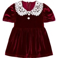 The Tiny UniverseTiny Victorian/Dress Real Red0-3 months (62)