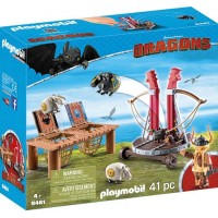 PlaymobilGobber the Belch with Sheep Sling