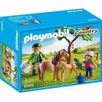 PlaymobilVet with Pony and Foal