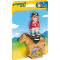 PlaymobilEquestrian with Horse