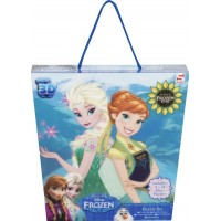 Disney FrozenPussel 3D, 4-pack