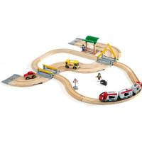 BRIO Rail & Road 33209 Räls och väg reseset