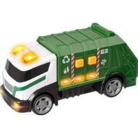 Teamsterz - Renhållningsbil 15 cm med ljud och ljus