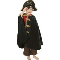 Den Goda Fen Piratmantel Gulddetaljer 4-8 år