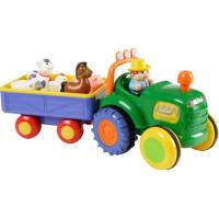 Happy Baby Traktor med släp