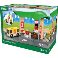 BRIO Travel 33427 Buss- och tågstation