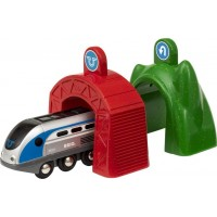 BRIO Smart Tech 33834 Smart lok med action-tunnlar