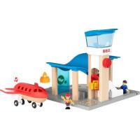 BRIO Travel 33883 Flygplats med flygplan