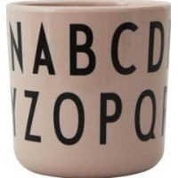 Design Letters ABC Mugg (Rosa)