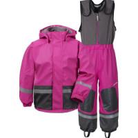 Didriksons Boardman Fodrat Regnställ (Plastic Pink)