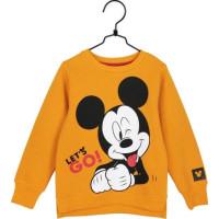 Disney Mickey Let's Go Tröja (Gul)