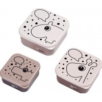 Done By Deer Snack Box 3-pack Contour (Rosa)