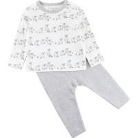 Fixoni Tvådelad Pyjamas (Off White Lamm) (56)