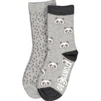 Geggamoja Strumpor (Panda grå)