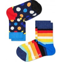 Happy Socks Strumpor 2-pack (Big Dot)